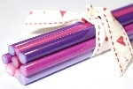 New Reichenbach Pink & Purple Glass Rod Sample Collection - CoE 94(+/-2)