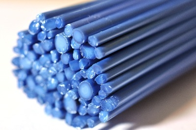 SPECIAL OFFER - Denim Blue - Gaffer Glass Rods / Cane - CoE 96 - G125