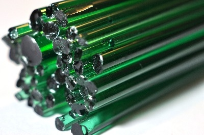 Light Emerald Green - Gaffer Glass Rods / Cane - CoE 96 - G006
