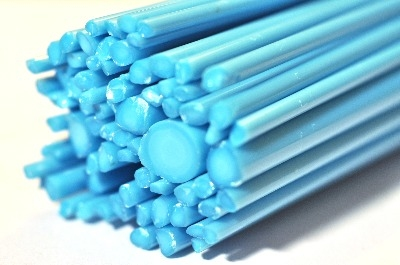 SPECIAL OFFER - Pale Blue - Gaffer Glass Rods / Cane - CoE 96 - G121