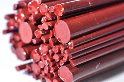 SPECIAL OFFER - Russet - Gaffer Glass Rods / Cane - CoE 96 - G171