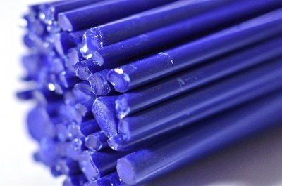 SPECIAL OFFER - Lapis Blue Extra - Gaffer Glass Rods / Cane - CoE 96 - G120
