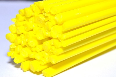 SPECIAL OFFER - Canary Yellow - Gaffer Glass Rods / Cane - CoE 96 - G184