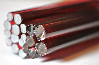 Gold Ruby Extra Light - Reichenbach Glass Rods / Cane - CoE 94(+/-2) - RW0250