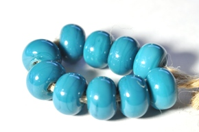 reichenbach blue green beads sized