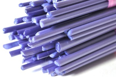 Purpur - Gaffer Glass Stringers (thin rods) - CoE 96 - G114