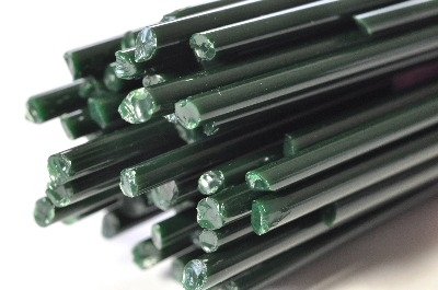 British Racing Green - Gaffer Glass Stringers (thin rods) - CoE 96 - G139