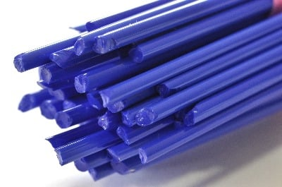 Blue Duro - Gaffer Glass Stringers (thin rods) - CoE 96 - G151