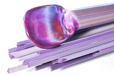 Royal Purple - Gaffer Glass Stringers (thin rods) - CoE 96 - G198