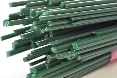 Forest Green - Gaffer Glass Stringers (thin rods) - CoE 96 - G134
