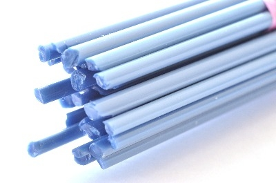 Denim Blue - Gaffer Glass Stringers (thin rods) - CoE 96 - G125