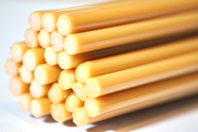 ochre yellow rods a sized