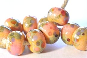enamel beads 3d sized