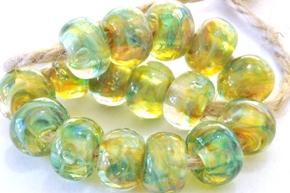 new frit beads 8d sized