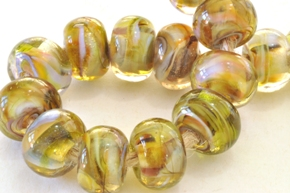 new frit beads 10c sized