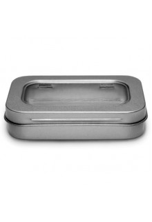 Rectangular Tin with Clear Lid