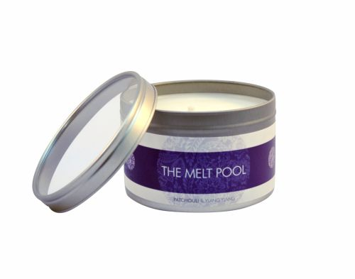 Patchouli with Ylang Ylang - Large Travel Tin