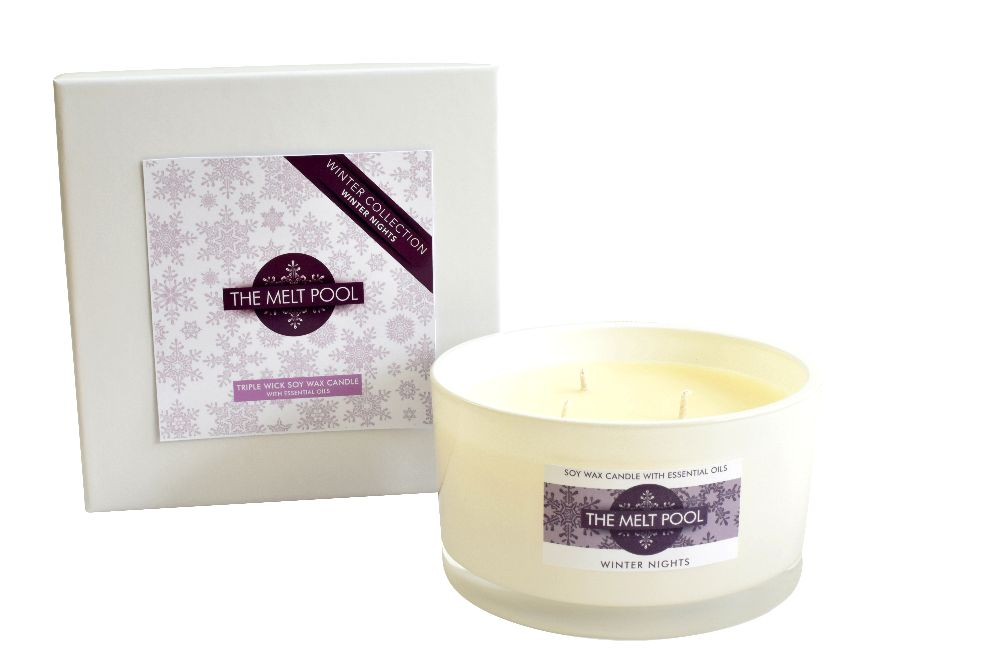 <!-- 001 -->Luxury Triple Wick Candles