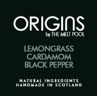 Origins Small Amber Apothecary Jar - Lemongrass with Cardamom & Black Pepper