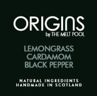 Origins Medium Amber Apothecary Jar - Lemongrass with Cardamom & Black Pepper