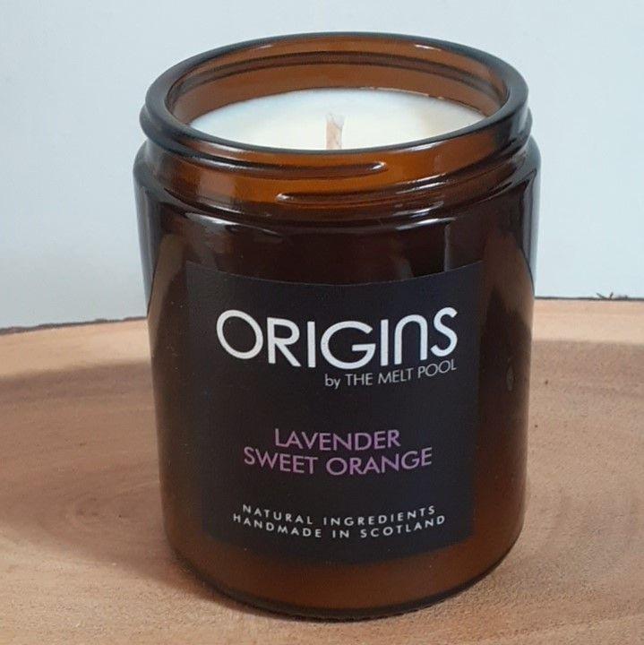 Origins Medium Apothecary Jar - Lavender & Sweet Orange