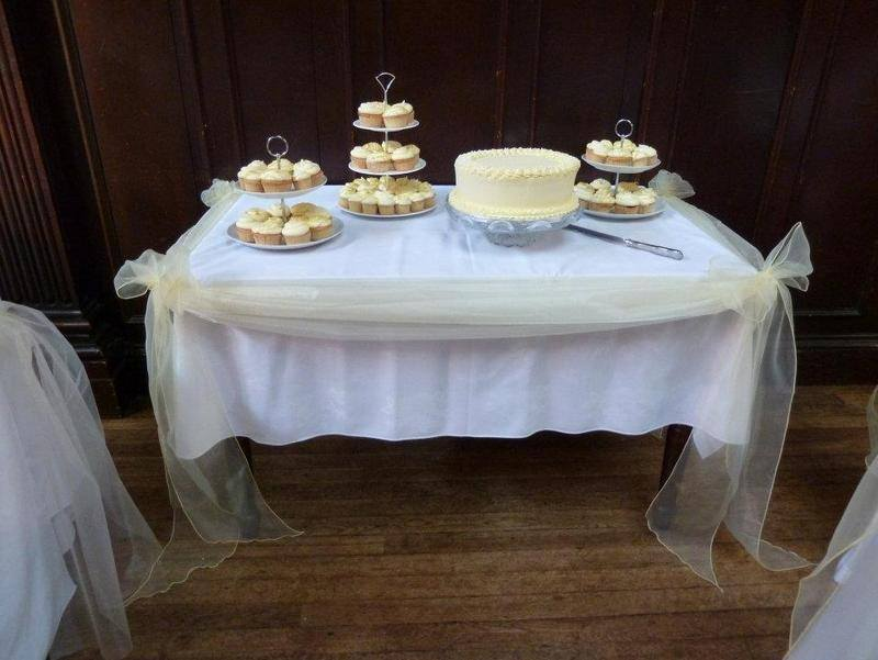 Cake Table Swag Wortley Hall