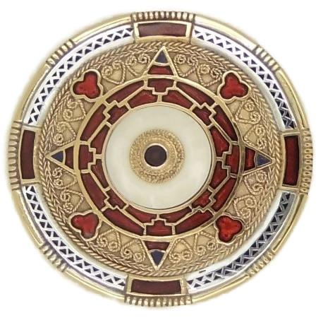Kentish Style Anglo Saxon Brooch