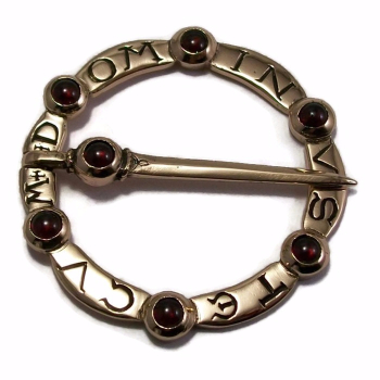 Medieval Ring Brooch