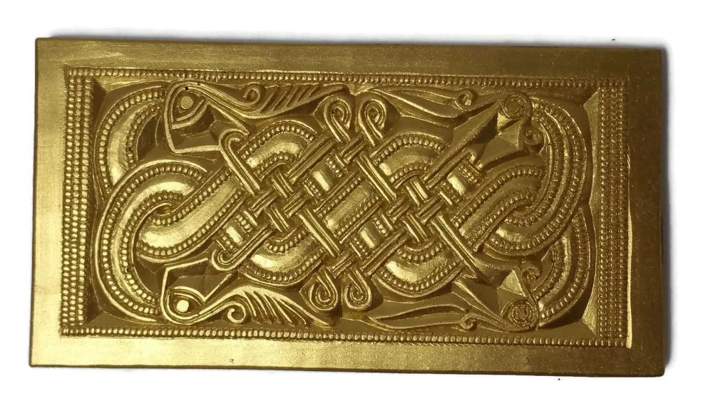 Chocolate Valsgärde 5 Helmet plaque