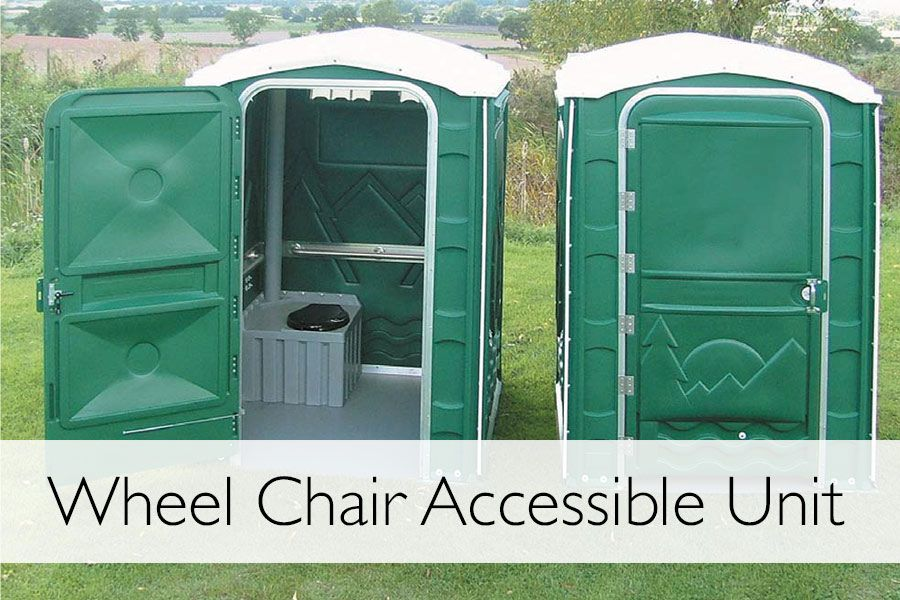 Wheel Chair access toilet unit for hire