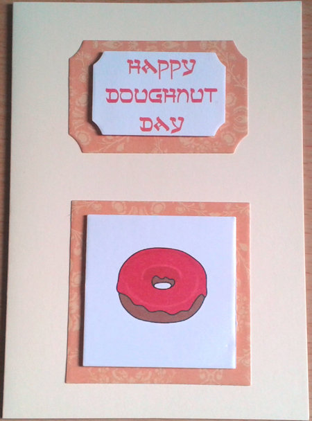 Happy Doughnut Day card