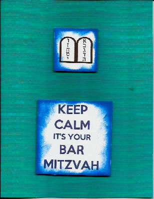 Keep Calm It's Your Bar Mitzvah Card