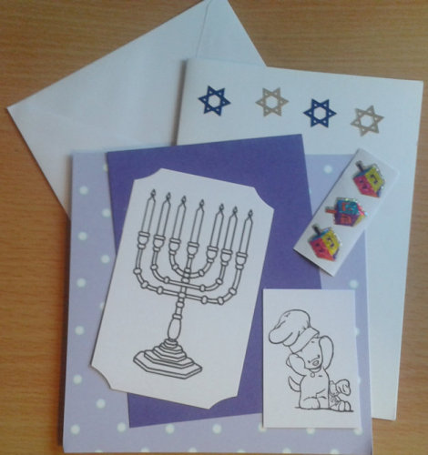 Chanukah Card Kit 1