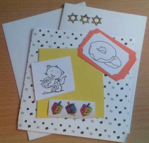 Chanukah Card Kit 2