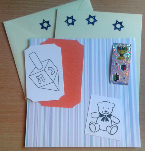 Chanukah Card Kit 3