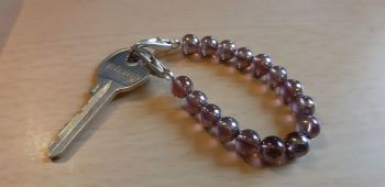 Shabbos Key Bracelet 'Shira'- stretchy