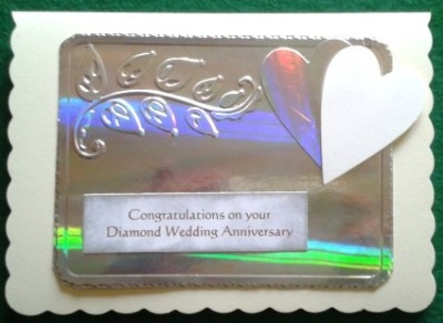 Diamond Wedding Card 1