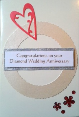 Diamond Wedding Card 3