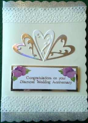 Diamond Wedding Card 4