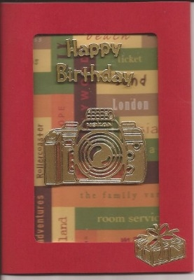Travel UGV Birthday Card
