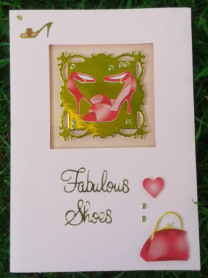 Fabulous Shoes UGV Card