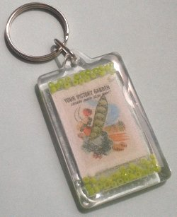 1940s Your Victory Garden Keyring