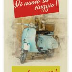 END7_1 Italian scooter poster