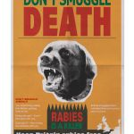 END7_1 Rabies warning poster