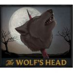 END7_3 Wolf's Head pub sign