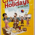 cheese holidays_beach_poster