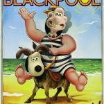 pleasure beach donkey poster