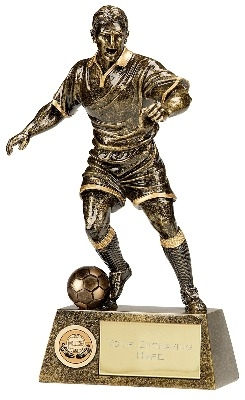 Pinnacle Football Trophy A1090B 18cm