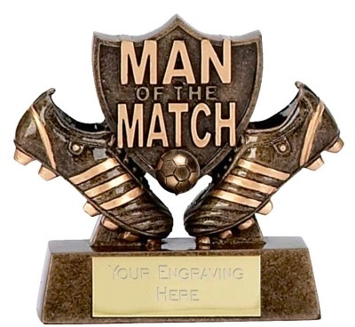 Man of the Match Trophy A873 8cm