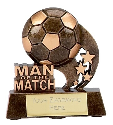 Man of the Match Trophy A879 8cm